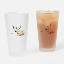 Daryl the Deer Drinking Glass