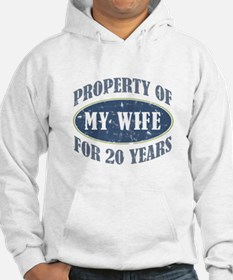 Funny 20th Anniversary Hoodie