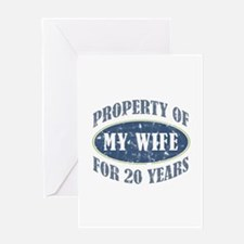 Funny 20th Anniversary Greeting Card