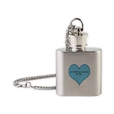 AUTISM has touched my life. Flask Necklace