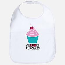 Cupcake RUnner Bib