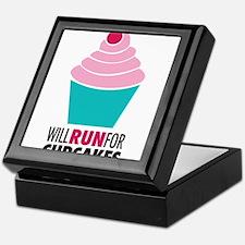 Cupcake RUnner Keepsake Box