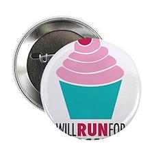 """Cupcake RUnner 2.25"""" Button"""