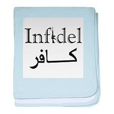 Infidel baby blanket