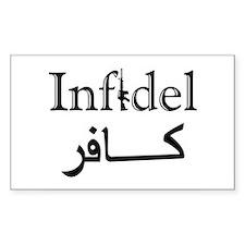 Infidel Decal