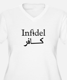 Infidel Plus Size T-Shirt