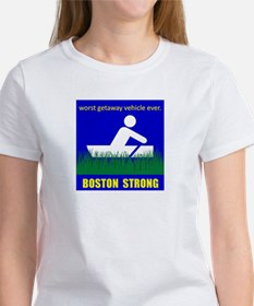 BOSTON STRONG boat parody T-Shirt