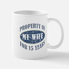 Funny 15th Anniversary Mug