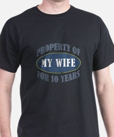 Funny 10th Anniversary T-Shirt