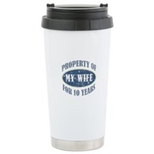 Funny 10th Anniversary Travel Coffee Mug