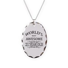 World's Most Awesome 21 Year Old Necklace