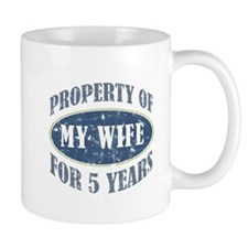 Funny 5th Anniversary Mug