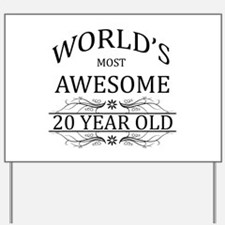 World's Most Awesome 20 Year Old Yard Sign