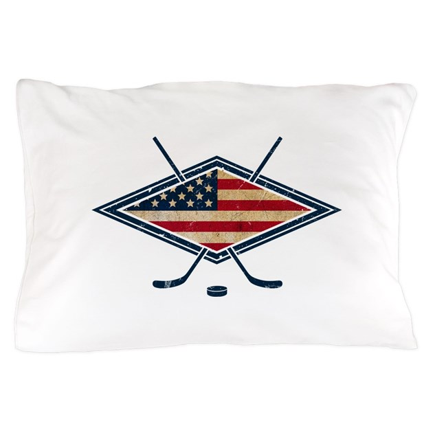 usa hockey coloring pages - usa hockey flag logo pillow case by gamefacegear