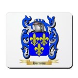 Burrows coat of arms Mouse Pads