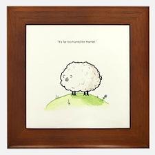 Harriet the Sheep Framed Tile