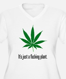 Just A Plant Plus Size T-Shirt