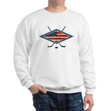 USA Hockey Flag Logo Sweatshirt
