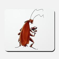Nuclear button roach Mousepad