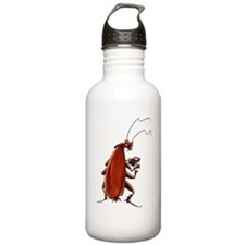 Nuclear button roach Water Bottle