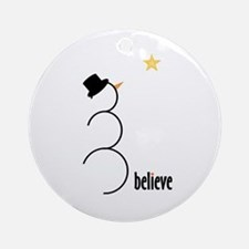 Believe Ornament (Round)