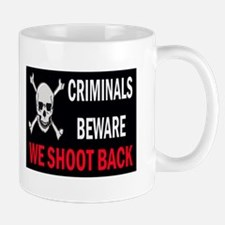 Criminals Beware Mug