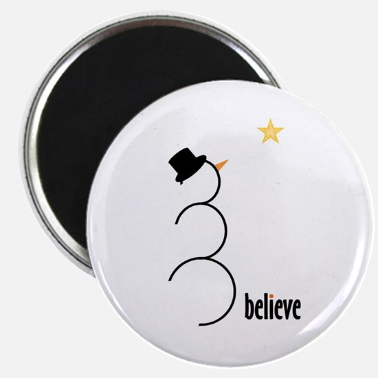 "Believe 2.25"" Magnet (10 pack)"