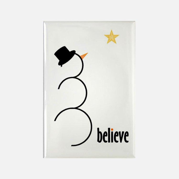 Believe Rectangle Magnet