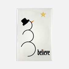 Believe Rectangle Magnet (100 pack)
