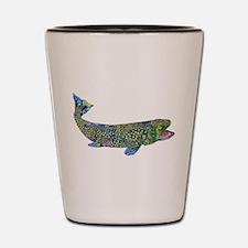 Wild Trout Shot Glass