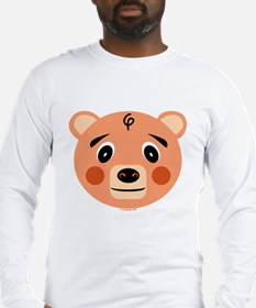 Orange Pig Monster Long Sleeve T-Shirt
