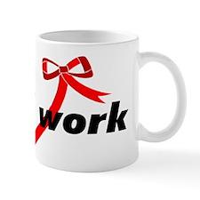 Social Work Ribbon Mug