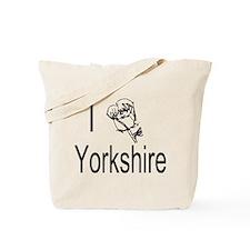 I Love Yorkshire Tote Bag