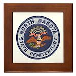 North Dakota Prison Framed Tile