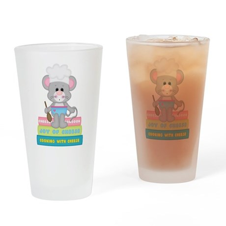 Cook Book Mouse Drinking Glass