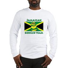 bobsledgreenenchanced Long Sleeve T-Shirt