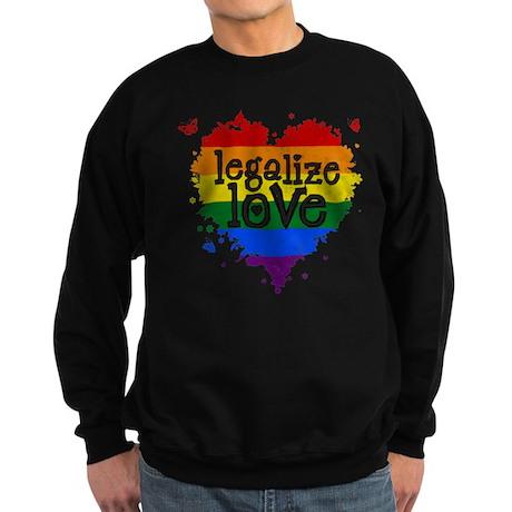 Legalize Love Sweatshirt (dark)