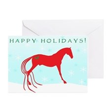 Unique Saddlebred christmas Greeting Cards (Pk of 10)