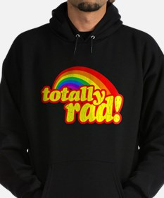 Retro Vintage 80s Totally Rad Hoodie