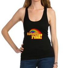 Retro Vintage 80s Totally Rad Racerback Tank Top