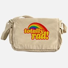 Retro Vintage 80s Totally Rad Messenger Bag