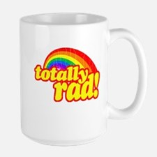 Retro Vintage 80s Totally Rad Mug