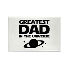Greatest Dad In The Universe Rectangle Magnet (10
