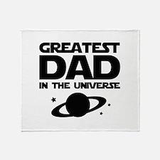 Greatest Dad In The Universe Stadium Blanket