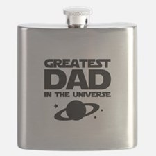 Greatest Dad In The Universe Flask
