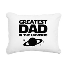 Greatest Dad In The Universe Rectangular Canvas Pi