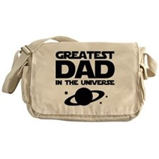 Greatest Dad In The Universe Messenger Bag