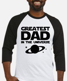 Greatest Dad In The Universe Baseball Jersey