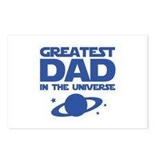 Greatest Dad In The Universe Postcards (Package of