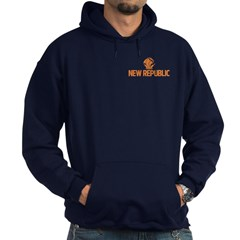 Hoodie with ship